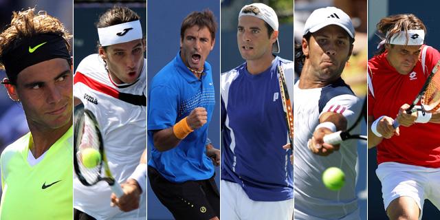 La crisis del tenis Español